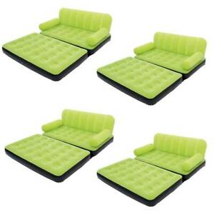Bestway Multi-Max Air Couch With Sidewinder AC Air Pump - Green | 10026 (4 Pack)