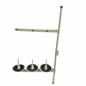 SEWING MACHINE COTTON, THREAD STAND METAL TUBE 3 WAY WORKS ON BROTHER, SINGER