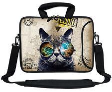 "13.3"" Neoprene Laptop Bag Case Sleeve w. Pocket Handle & Carrying Strap 3101"