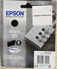 Genuine Original Epson 35 Black Printer Ink Cartridge WF-4720DWF WF-4725DWF