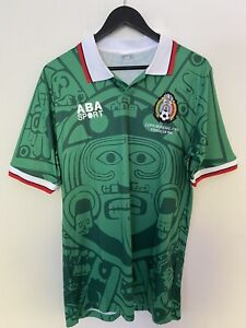 Mexico 1998 World Cup Jersey home