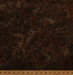 Cotton Batik Leopard Print Spots Animal Print Fabric Print by the Yard D302.46