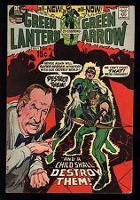 Green Lantern (1960) #83 1st Print Green Arrow Psychic Powered Girl Adams C/A FN