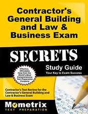 Contractor's General Building and Law & Business Exam Secrets Study Guide