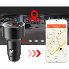Car GPS Tracker Locator Tracking Device 3.1A Dual USB Fast Charger LED Voltmeter