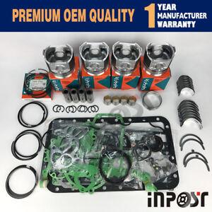 Overhaul Kit STD for kubota V2203 V2203B V2203T Engine Bobcat 753 763 773