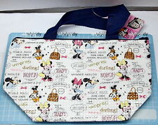 Disney Minnie Mouse Zip Tote Lunch Bag     ^_^1