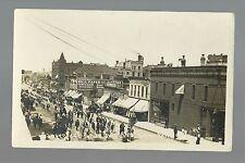 Sioux Falls SOUTH DAKOTA RP 1910 SANGERFEST Norwegian American PARADE Norway