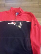 Reebok NFL New England Patriots Pullover Fleece  Mens Small