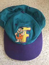 Vintage 1994 Fred Flinstones Snapback Hat, Embroidered