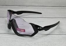OAKLEY OO9401 21 Flight Jacket Polished Black Prizm Low Lt 37 Men's Sunglasses