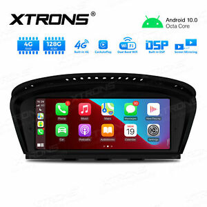 """8.8"""" Android 10 DSP 4+128GB Car GPS Stereo 4G For BMW 3/5 Series E90 E91 E60 CCC"""