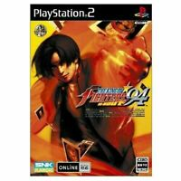 USED PS2 THE KING OF FIGHTERS '94 RE-BOUT Normal Edition