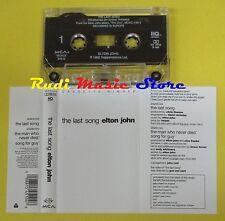 MC SINGLE SINGOLA ELTON JOHN The last song 1992 MCA MCACS-54510 no cd lp dvd vhs