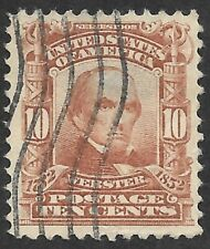 Mr B's U.S. Stamp Used #310 1903 - Webster - Nice Centering!  - Free Shipping!
