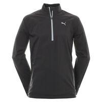 PUMA mens long sleeve Rain popover 1/4 zip golf jacket....MRRP £119.99 SAVE £72.