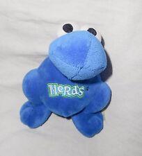 """Nestle Nerds Blue Candy Plush Stuffed Animal Advertising Mascot 7"""" Good Stuff"""