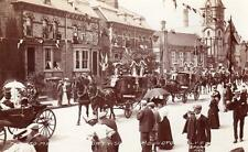 Lord Mayor London visit to Bridlington 1906 RP old pc used Spurr's Series