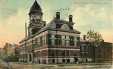 1912 Court House, Logansport, Indiana Postcard