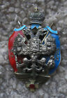 WW1 IMPERIAL RUSSIAN OFFICERS BADGE COSSACK MEDAL ORIGINAL  SUPER (H