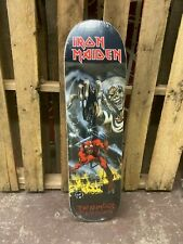 Zero x Iron Maiden Number of the Beast Skateboard Deck