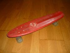 skate vintage rouge - skateboard old school 70's