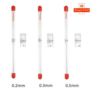 02/0.3/0.5mm Airbrush Nozzle &Needle Replacement For Airbrushes Gun Model UK