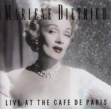 MARLENE DIETRICH : THE MARLENE DIETRICH ALBUM - LIVE AT THE CAFE DE PARIS / CD