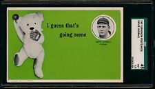 1907 PC775 Grignon Chicago Cubs Postcard: #8 Orval Overall SGC 45 3.5