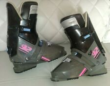 SALOMON SX 92 SIZE 335 GRAY SKI BOOTS (GREAT CONDITION READY TO BE USED)