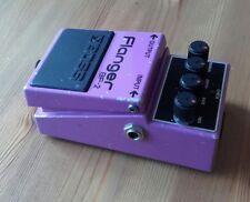 Boss BF2 Japan 1982 Flanger Black label guitar effects pedal Vintage MIJ