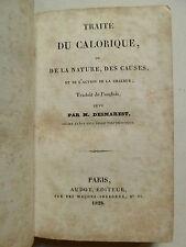 Traité du calorique, Medicin, Medizin,