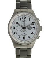 Orologio Uomo Militare Vintage Cronografo Al Quarzo In Acciaio MEC