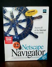 NETSCAPE NAVIGATOR 2.0 Personal Edition Windows 95 & 3.1
