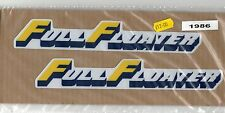 Suzuki Full Floater Swingarm Decals RM 125 250 RM125 RM250 1986 to 1990