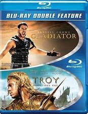 Troy/Gladiator (Blu-ray Disc, 2013, 2-Disc Set)