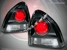 1992-1996 Honda Prelude Altezza Tail Lights JDM Black Coupe 2 Doors