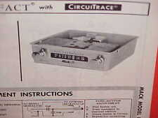 1965 MACK TRUCK AM RADIO SERVICE SHOP REPAIR MANUAL BOOK BROCHURE CATALOG U5MMT
