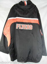 NWT NHL CCM PHILADELPHIA FLYERS HOODED JACKET - XL