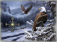 Eagle Wall Clock  Gr8 Gifts