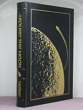 signed by James Gunn (intro), Around the Moon by Jules Verne, Easton Press