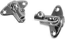 1959-63 Chevy Sunvisor Brackets w/screws , pair