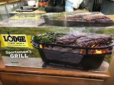 Lodge Cast Iron Sportsman's Grill Brand New Never opened