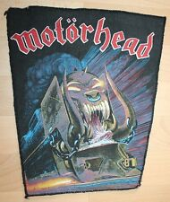 Motörhead , Orgasmatron Backpatch , Vintage 80's , ultra rar, rare