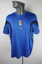 Italy Training Puma Home Football shirt trikot Mens L Large F847 Italia