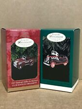 Keepsake Ornament Collector's Club Kiddie Car Classics 1996 and 1997
