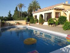 HOLIDAY VILLA FOR RENT NR BENIDORM SLEEPS 8  650 POUNDS 1 WEEK JULY CANCELLATION