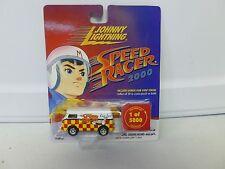 Johnny Lightning Speed Racer 2000 Race Team VW Bus 1 of 5000 (1)
