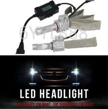 2x 8000LM Xenon White 6500K HB3 9005 LED Fog Light Headlight bulb 12V 24V 44W