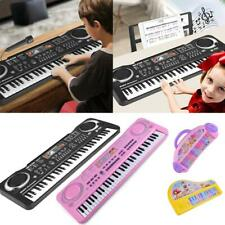 Kids Electronic Piano Multi-function Musical Instrument Toys With Microphone